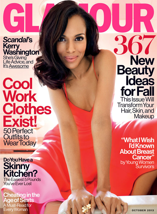 Kerry Washington, Glamour Cover